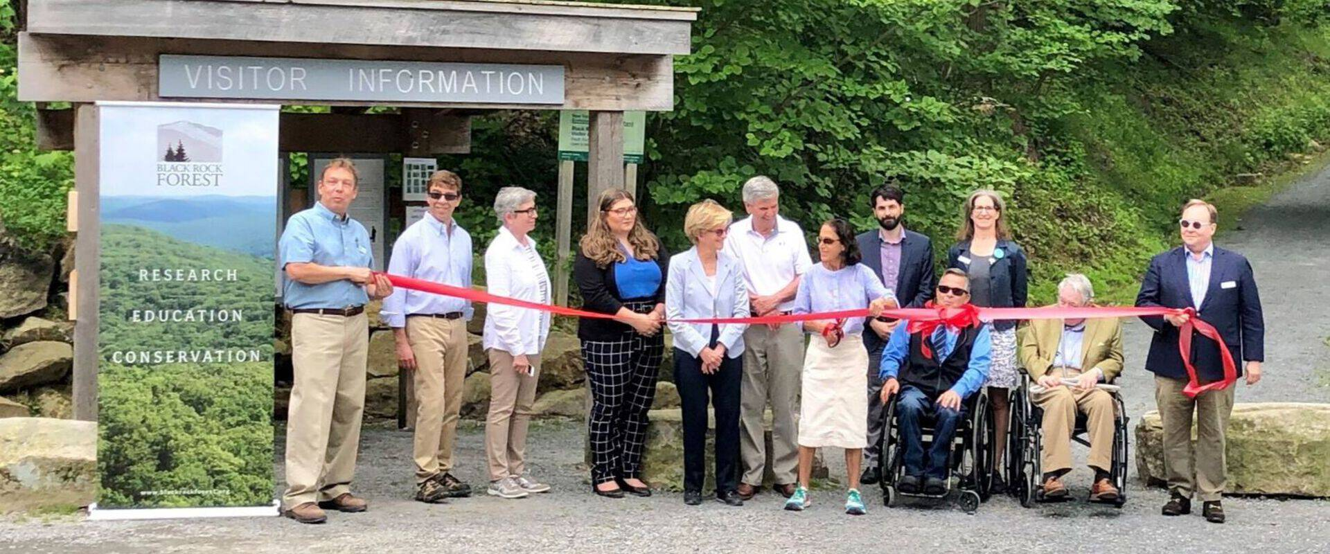 Dedication and Ribbon-Cutting Ceremony at Black Rock Forest
