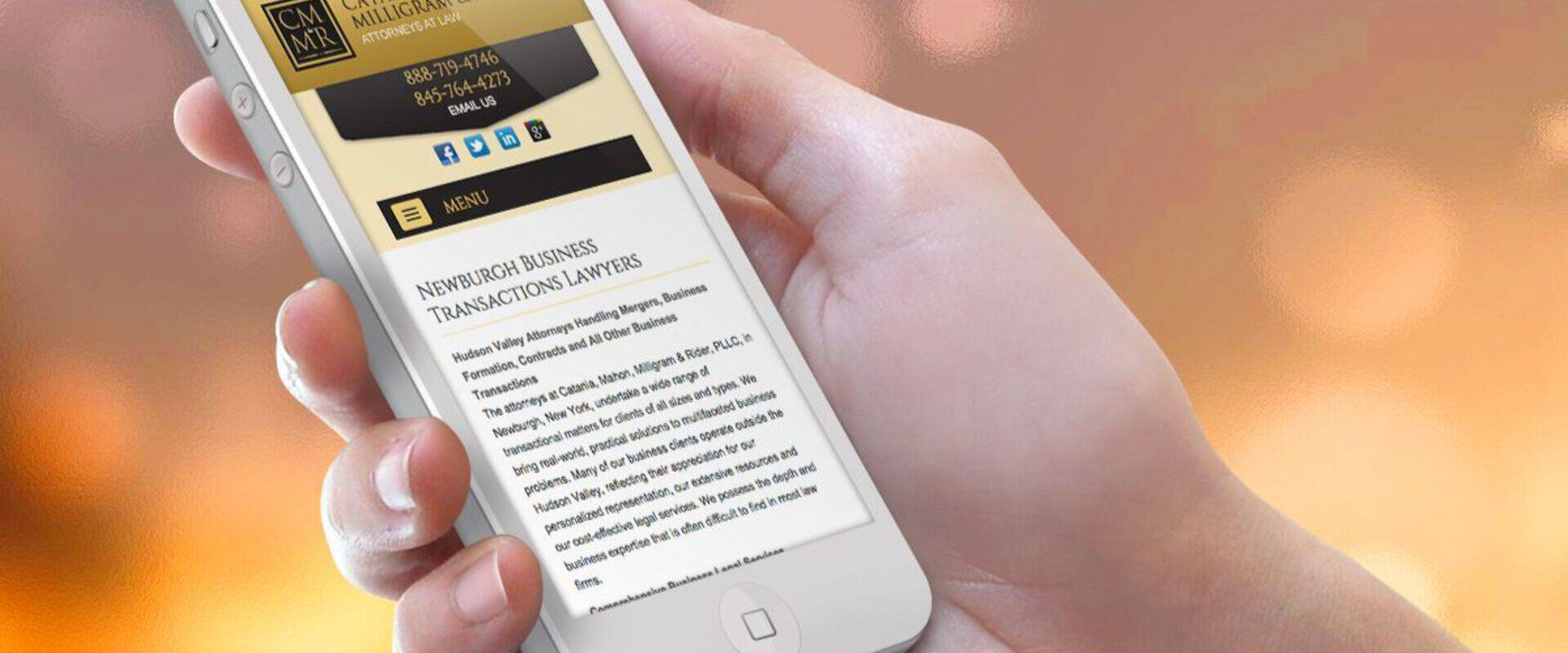 CMR Launches New Mobile Website