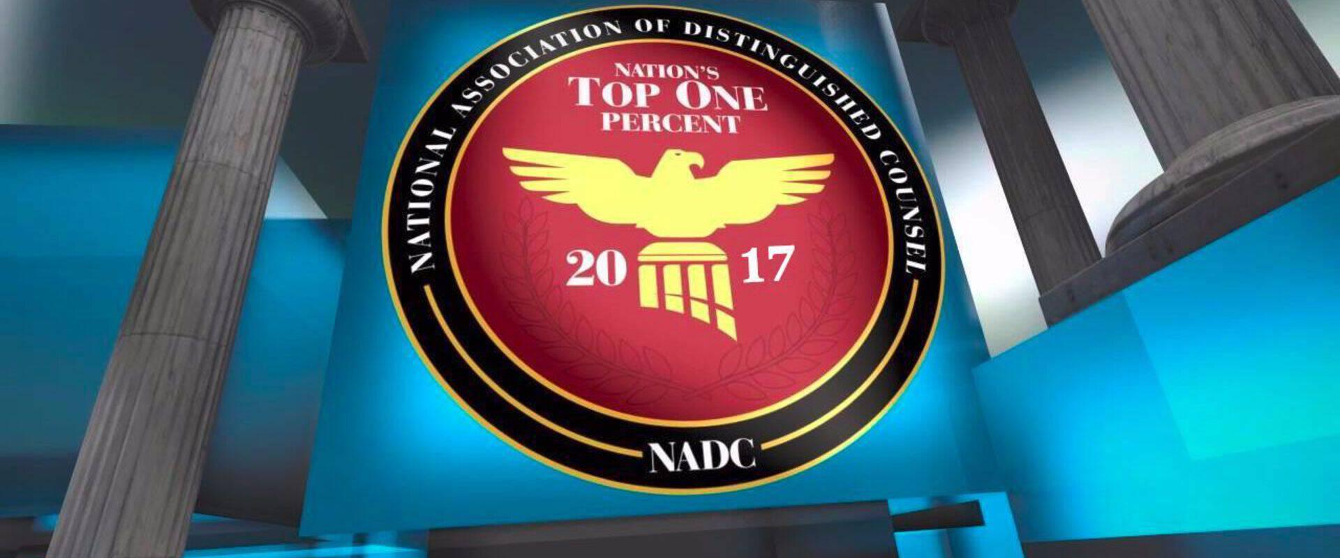 Steven Milligram selected as 2017 member of Nation's Top One Percent